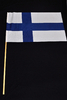 Finnish supporter flag