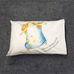 Children and baptism pillow cases