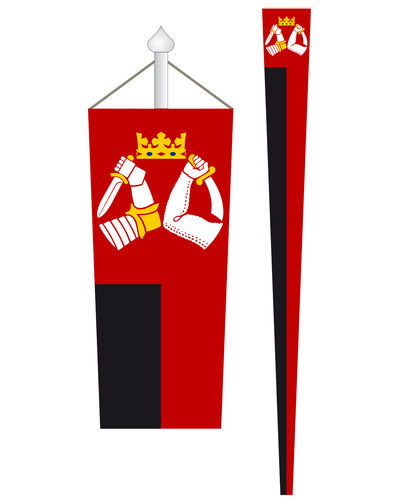 Karelen Provincial pennant with coat of arms